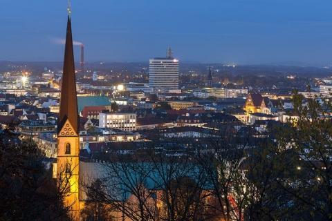 Escort Bielefeld - Skyline bei Nacht