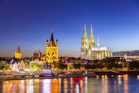 Escort Köln - Skyline mit Dom bei Nacht